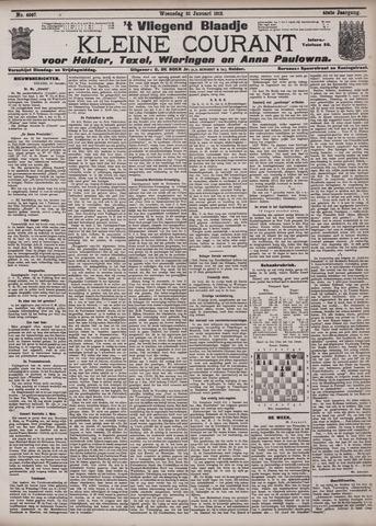 Vliegend blaadje : nieuws- en advertentiebode voor Den Helder 1912-01-31