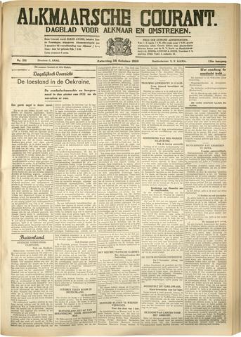 Alkmaarsche Courant 1933-10-28
