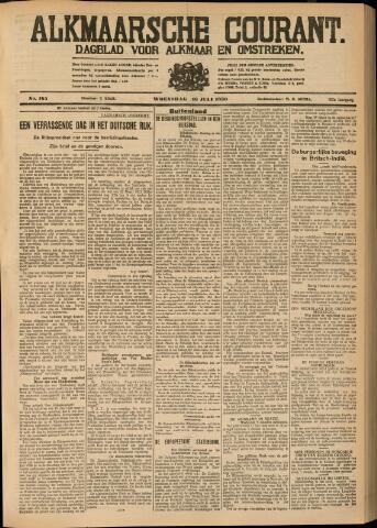 Alkmaarsche Courant 1930-07-16