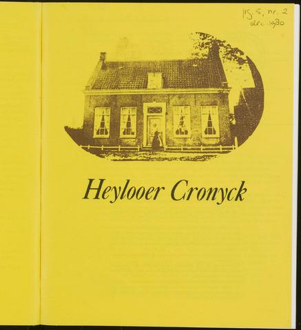 Heylooer Cronyck 1980-12-01