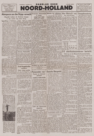 Dagblad Noord-Holland, Schager editie 1943-10-07