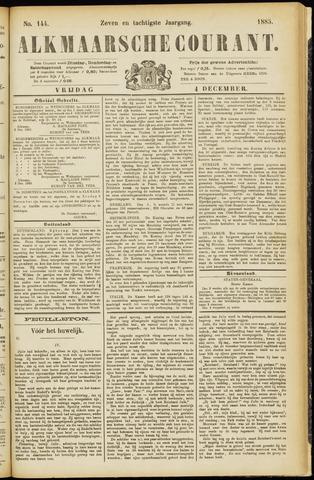 Alkmaarsche Courant 1885-12-04