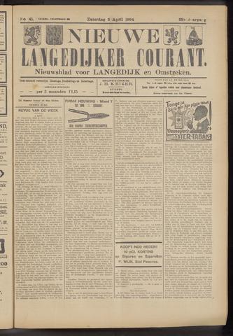 Nieuwe Langedijker Courant 1924-04-05