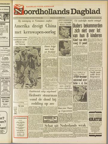 Noordhollands Dagblad : dagblad voor Alkmaar en omgeving 1967-09-25