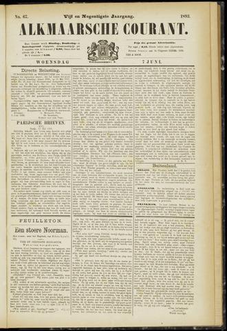 Alkmaarsche Courant 1893-06-07