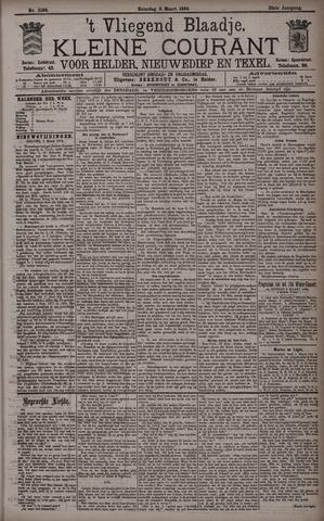 Vliegend blaadje : nieuws- en advertentiebode voor Den Helder 1894-03-03