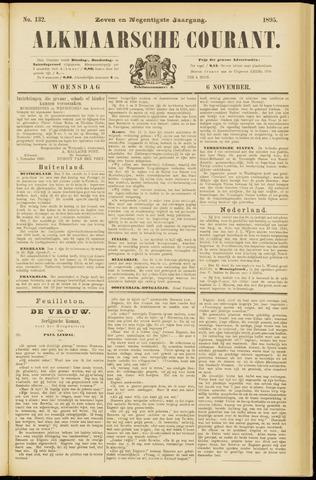 Alkmaarsche Courant 1895-11-06