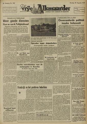 De Vrije Alkmaarder 1947-08-26