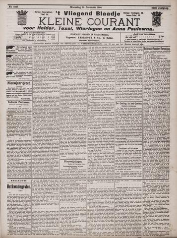 Vliegend blaadje : nieuws- en advertentiebode voor Den Helder 1904-12-28
