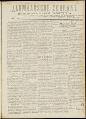 Alkmaarsche Courant 1919-11-29