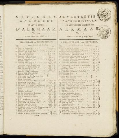 Alkmaarsche Courant 1812-03-04