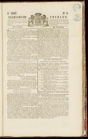 Alkmaarsche Courant 1847-02-22