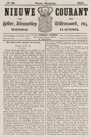 Nieuwe Courant van Den Helder 1861-10-16