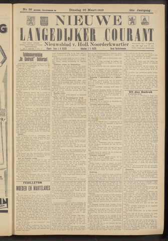 Nieuwe Langedijker Courant 1929-03-26