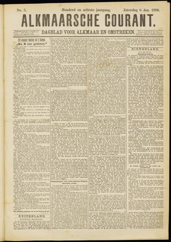 Alkmaarsche Courant 1906-01-06