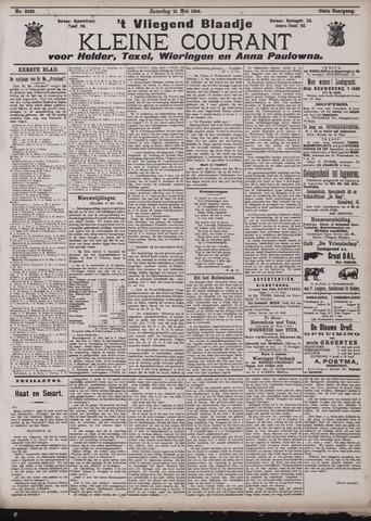 Vliegend blaadje : nieuws- en advertentiebode voor Den Helder 1904-05-21