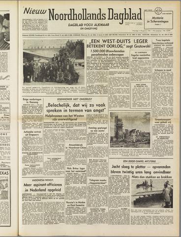 Nieuw Noordhollandsch Dagblad : voor Alkmaar en omgeving 1951-08-13