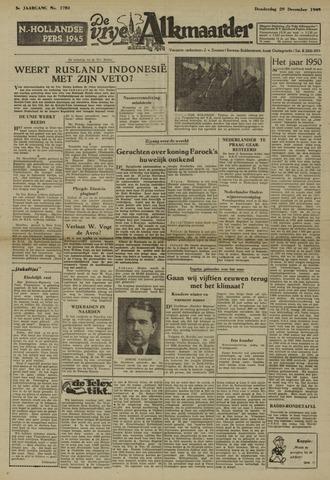 De Vrije Alkmaarder 1949-12-29