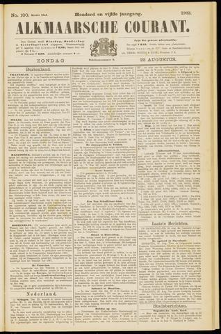 Alkmaarsche Courant 1903-08-23