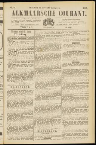 Alkmaarsche Courant 1905-05-19