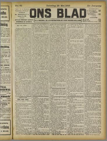 Ons Blad : katholiek nieuwsblad voor N-H 1918-05-25