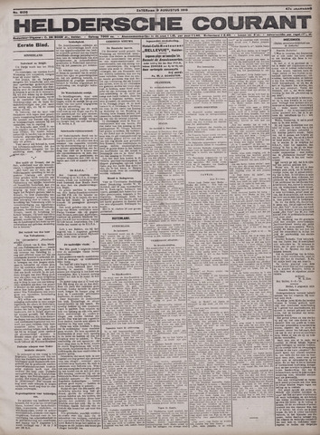 Heldersche Courant 1919-08-09