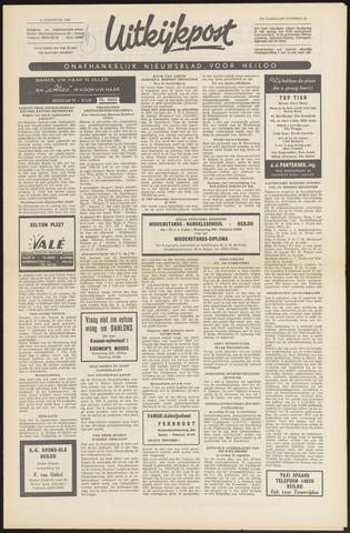 Uitkijkpost : nieuwsblad voor Heiloo e.o. 1966-08-04