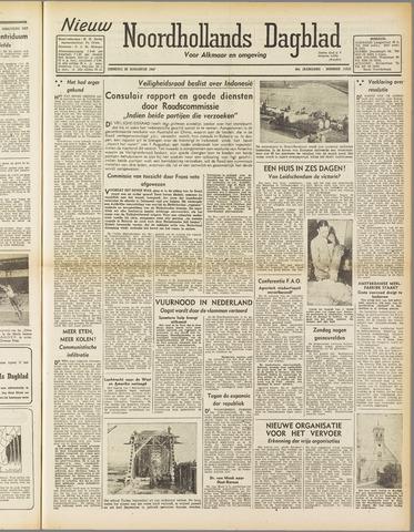 Nieuw Noordhollandsch Dagblad : voor Alkmaar en omgeving 1947-08-26