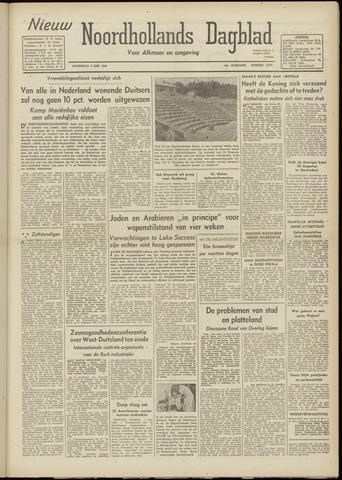 Nieuw Noordhollandsch Dagblad : voor Alkmaar en omgeving 1948-06-02