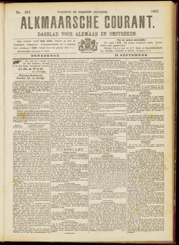 Alkmaarsche Courant 1907-09-12