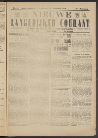 Nieuwe Langedijker Courant 1928-12-20
