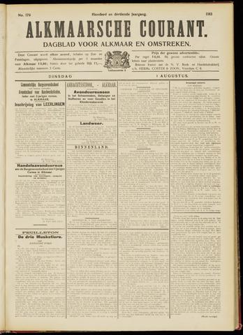 Alkmaarsche Courant 1911-08-01