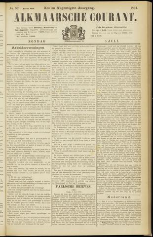 Alkmaarsche Courant 1894-07-08