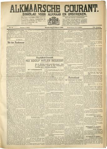 Alkmaarsche Courant 1933-03-16