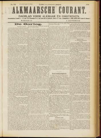 Alkmaarsche Courant 1915-09-08