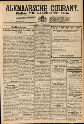 Alkmaarsche Courant 1934-12-04