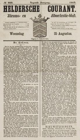 Heldersche Courant 1869-08-25