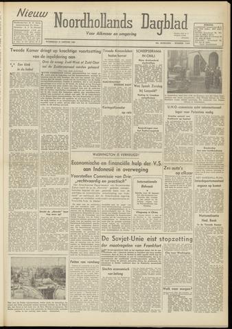 Nieuw Noordhollandsch Dagblad : voor Alkmaar en omgeving 1948-01-21