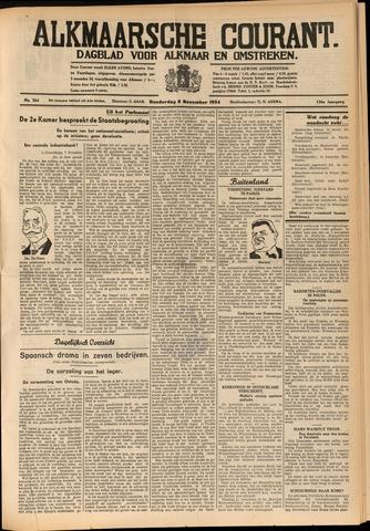 Alkmaarsche Courant 1934-11-08