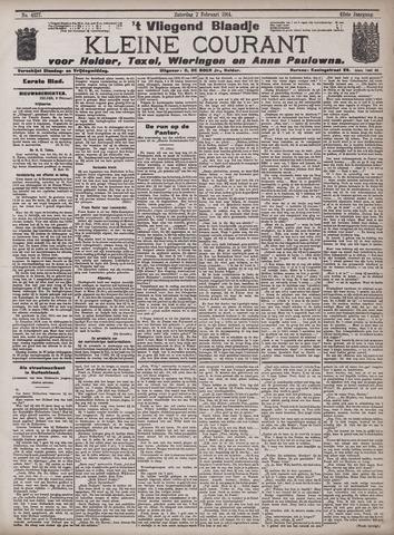 Vliegend blaadje : nieuws- en advertentiebode voor Den Helder 1914-02-07