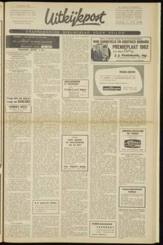 Uitkijkpost : nieuwsblad voor Heiloo e.o. 1962-10-04