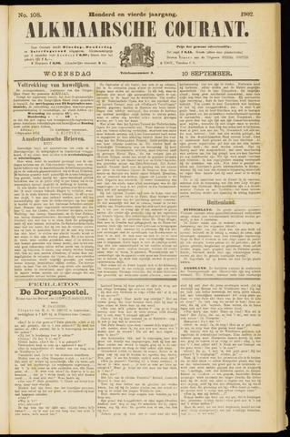 Alkmaarsche Courant 1902-09-10