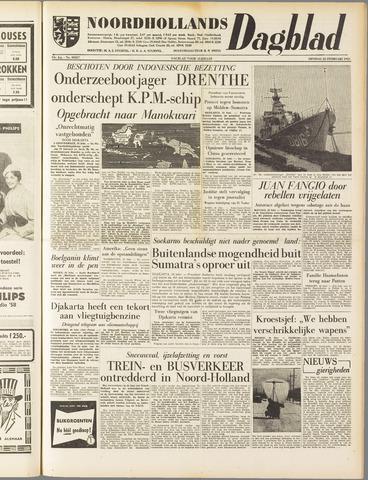 Noordhollands Dagblad : dagblad voor Alkmaar en omgeving 1958-02-25