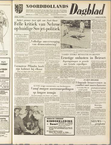 Noordhollands Dagblad : dagblad voor Alkmaar en omgeving 1958-05-13
