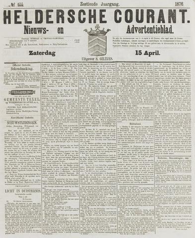 Heldersche Courant 1876-04-15