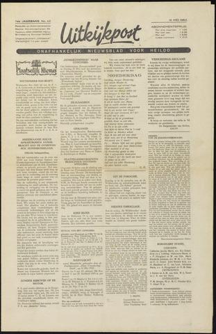 Uitkijkpost : nieuwsblad voor Heiloo e.o. 1952-05-16