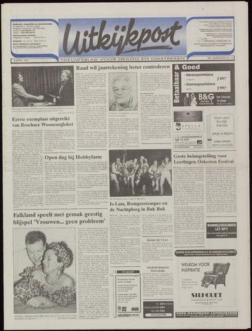 Uitkijkpost : nieuwsblad voor Heiloo e.o. 1997-04-09