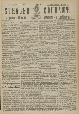 Schager Courant 1911-02-15