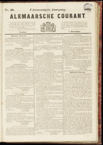 Alkmaarsche Courant 1862-12-07