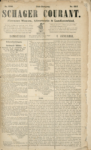 Schager Courant 1880